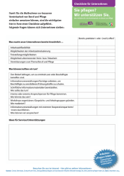 """Checkliste für Unternehmen"""""""""""